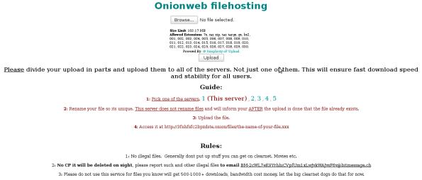 OnionWebFileHosting