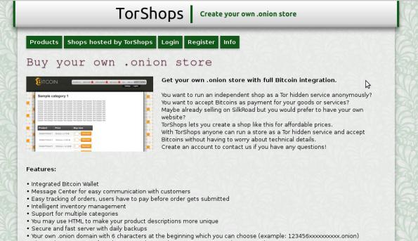 torShops